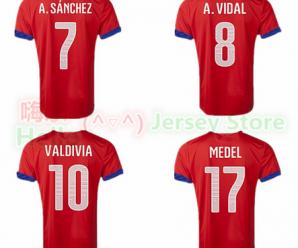 Comprar camiseta de la selección Chilena en AliExpress
