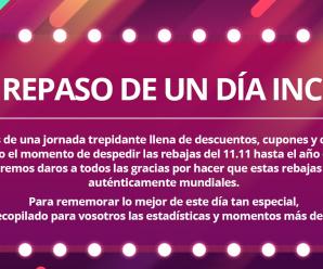 Exito de ventas éste 11.11 en AliExpress desde Chile