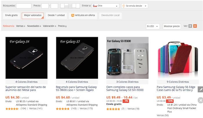 comprar caracasa para celular samsung en aliexpress 2