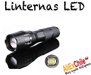 Comprar linternas LED en AliExpress