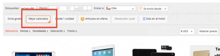 comprar tablet en aliexpress desde chile