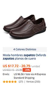 Comprar zapatos para hombre en AliExpress | Comprar en