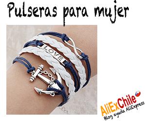 2bcd024bc4b1 pulseras de plata | Comprar en Aliexpress desde Chile - Comprar en China