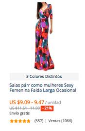 mejor online diseño superior más cerca de Comprar faldas largas para mujer en AliExpress | Comprar en ...