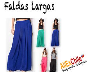 Comprar faldas largas para mujer en AliExpress