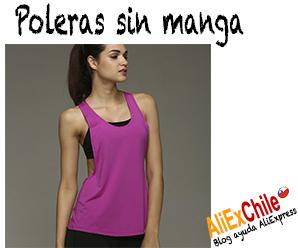 Comprar poleras sin manga para mujer en AliExpress