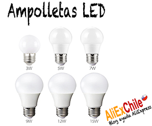 Comprar ampolletas LED en AliExpress