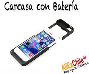 Comprar carcasa con batería para iPhone en AliExpress