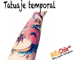 Comprar tatuajes temporales en AliExpress