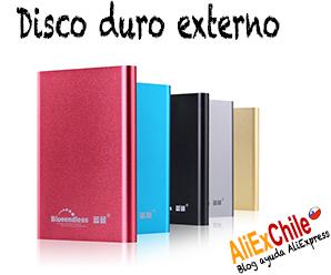 Comprar disco duro externo en AliExpress