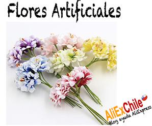 Comprar flores artificiales en AliExpress