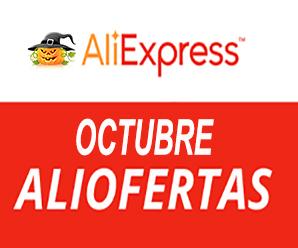 Octubre: un nuevo mes con ofertas en AliExpress