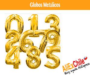 Comprar globos metálicos en AliExpress