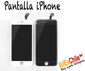 Comprar pantalla para iPhone en AliExpress