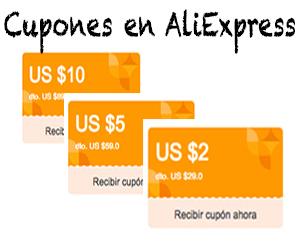 Cupones de descuento Octubre 2016 en AliExpress desde Chile