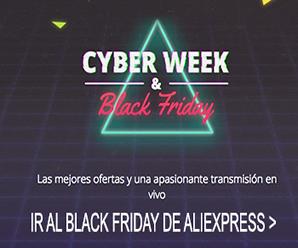 Todo lo que debes saber para el nuevo Black Friday & Cyber Week de AliExpress