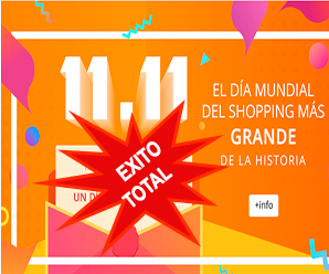 Éxito total el 11.11 de AliExpress 2016 en Chile