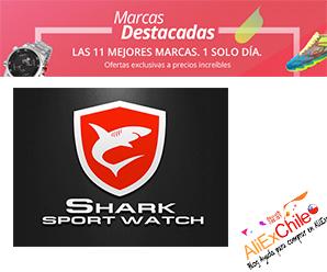 Shark: relojes con descuentos increíbles éste 11.11 en AliExpress
