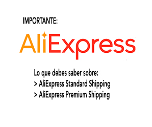 Diferencia entre AliExpress Standard Shipping y AliExpress Premium Shipping
