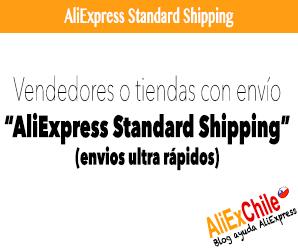 Vendedores o Tiendas con envío AliExpress Standard Shipping