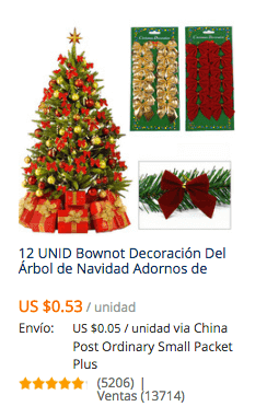 Especial Adornos de Navidad 2016 en AliExpress Comprar en