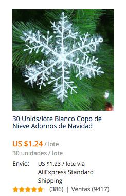 comprar adornos para navidad en aliexpress