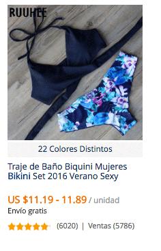 comprar bikini en aliexpress