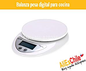 Comprar balanza pesa digital para cocina en AliExpress