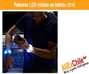 ¿Quieres las pulseras luminosas de la teletón 2016? AliExpress las tiene