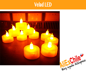 Comprar velas LED en AliExpress