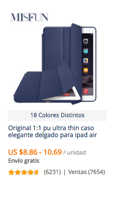 comprar funda para tablet en china