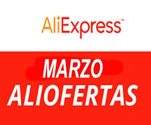 ¡Llegó Marzo! ahorra comprando en AliExpress