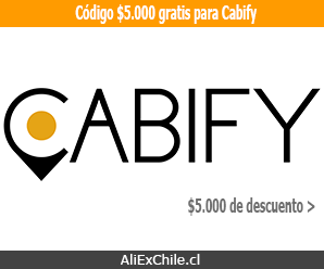 Te regalamos código con $5.000 gratis para que uses Cabify Chile