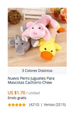 comprar juguetes para perros en aliexpress