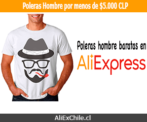 Comprar poleras baratas para hombre en AliExpress