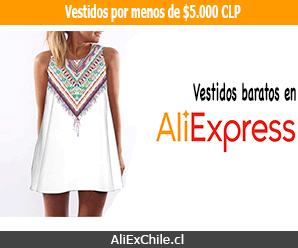 Comprar vestidos baratos por menos de $5.000 en AliExpress