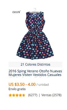 comprar vestidos baratos en aliexpress