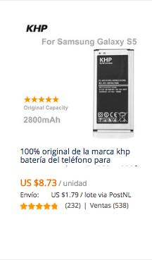comprar bateria celular samsung en aliexpress