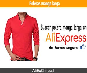 Comprar polera manga larga para hombre en AliExpress
