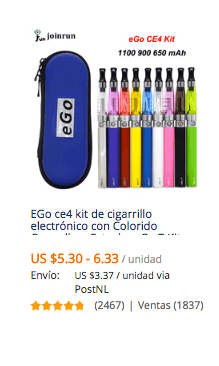 comprar vaporizador electronico en aliexpress