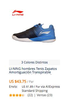 ba59cf28 Comprar zapatillas para jugar tenis en AliExpress | Comprar en ...