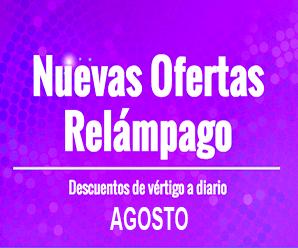 Ofertas Relámpago de Agosto en AliExpress