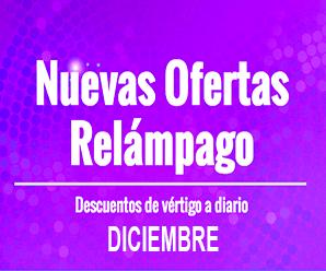 Diciembre con ofertas relámpago en AliExpress Chile