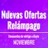 Ofertas relámpago Noviembre 2019 en AliExpress
