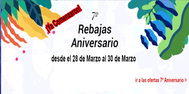 ¡Celebra ahorrando en grande el 7º Aniversario de AliExpress!