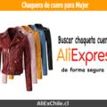 Comprar chaqueta de cuero para mujer en AliExpress