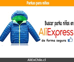 Comprar parkas para niño en AliExpress