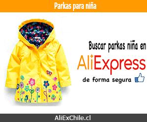 Comprar parkas para niña en AliExpress