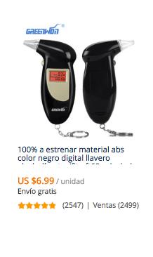 comprar alcotest portatil en aliexpress