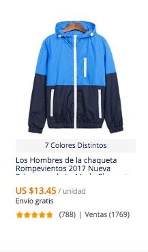 comprar chaqueta hombre en aliexpress
